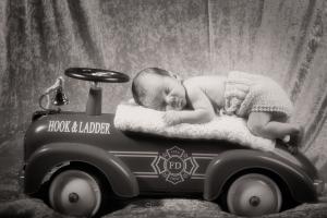 Nyfødt - Aksel - Siri og Rune sitt barn